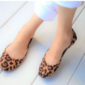 Shoes - New Leopard Flats